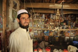 Taliban shopkeeper