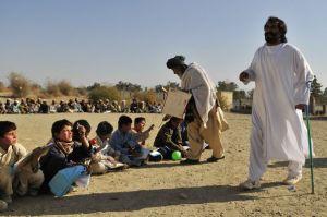 Afghan Jesus was making sure things were running s